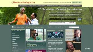 NewYork-Presbyterian Hospital's Web Initiatives, 1996-2011