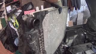 Замена радиатора BMW e46