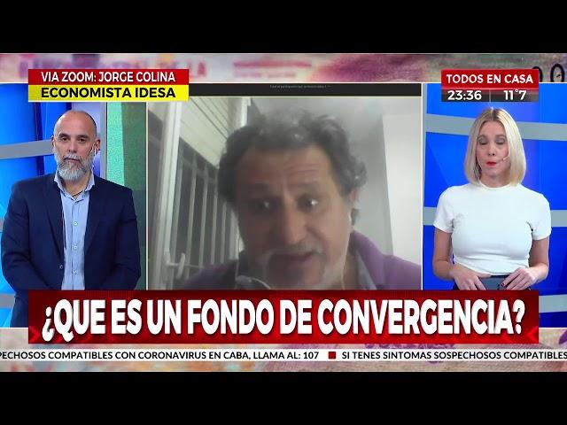 Entrevista a Jorge Colina en Hagamos Números. Cronica TV.