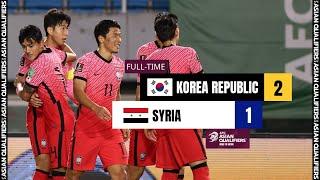 Корея  2-1  Сирия видео