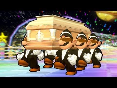 Coffin Dance in Mario Kart Wii