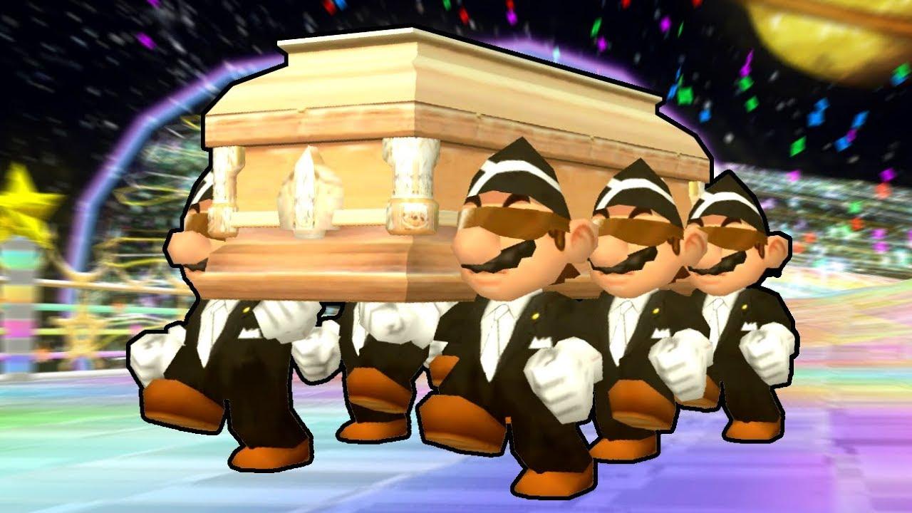 Gif Full Gif Roblox Coffin Dance Coffin Dance In Mario Kart Wii Youtube