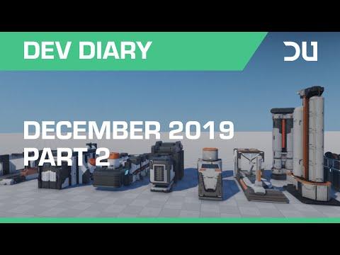 Dual Universe - Dev Diary | December 2019 - Part 2