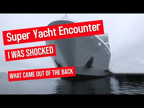 Mega yachts AXIS and GIGI Gloucester harbor