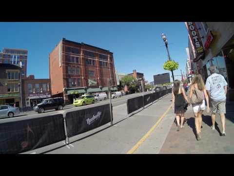 walking in broadway street Nashville