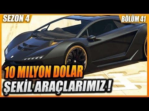 10 MİLYON DOLARLIK ARAÇLAR ! JİLET GİBİ (GTA 5 ROLEPLAY) #41