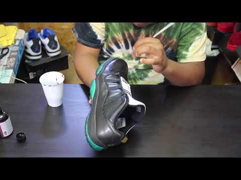 """Custom Air Jordan 11 Low """"Emerald"""" + Time Lapse"""