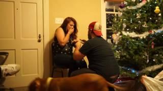 Dirty Santa marriage proposal