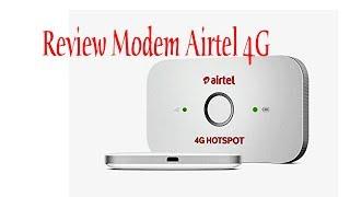 Review Modem Airtel 4G Hotspot Unlock