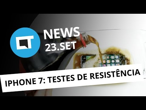 iPhone em testes extremos, viral do terrorista, mentira do Facebook e + [CT News]