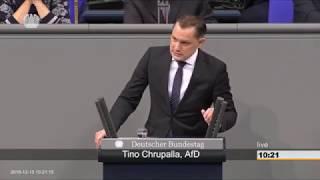 Tino Chrupalla AfD  Frau Özoğuz  es gibt eine deutsche Kultur  13 12 2018