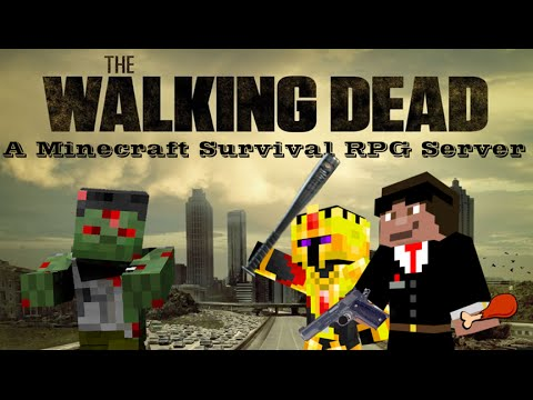 THE WALKING DEAD DANS MINECRAFT !!! - The Blocking Dead avec