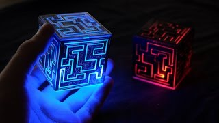 3D Printed Alien Cube