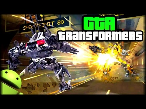 Descarga Juego Como Gta Transformers Para Android City Robot