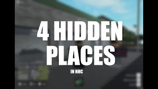 Roblox | New Haven County | 4 Hidden Places In NHC!