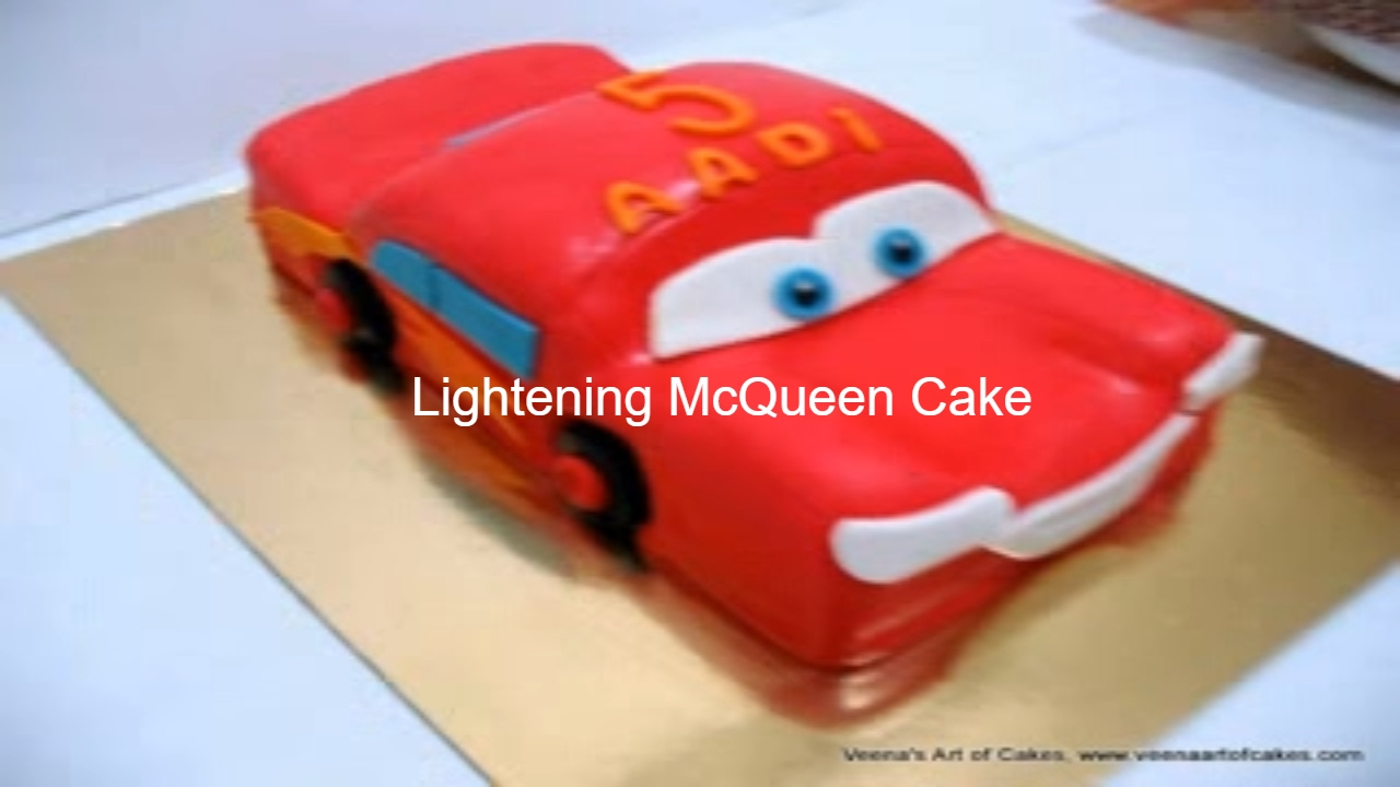 How to make a lightening mcqueen cake cake decorating tutorial youtube