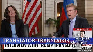 The First Interview With Trump's Translator thumbnail