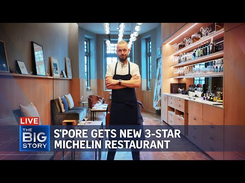 Singapore gets new 3-star Michelin restaurant   THE BIG STORY
