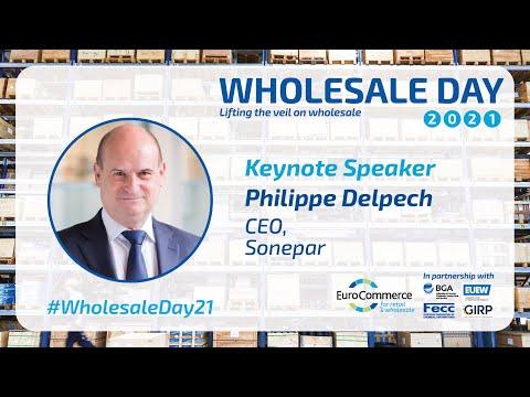 Keynote by Philippe Delpech, CEO, Sonepar