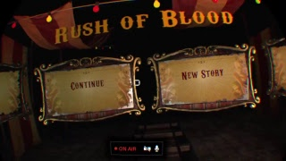 Until Dawn: Rush of Blood PSVR PS4 Pro