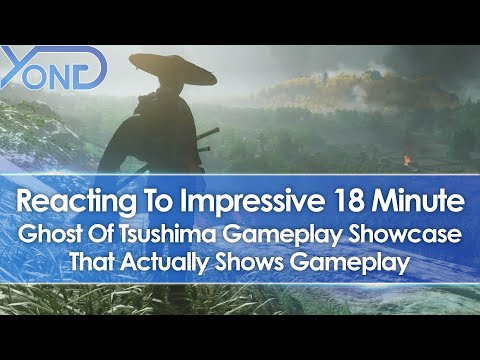 Reacting to 18 Minute Ghost Of Tsushima Gameplay Showcase That Actually Shows Gameplay