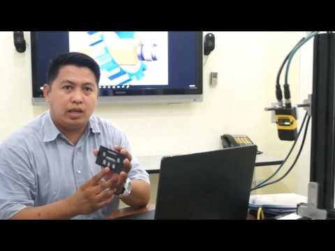Repeat DataMan 8600 04 How to Demo by Vision System & ID
