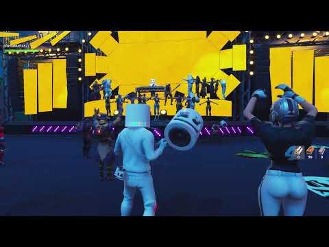 Marshmello concert Fortnite