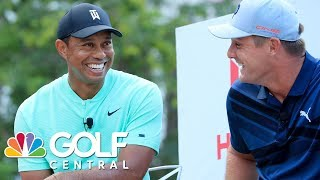 Tiger Woods speaks at Hero World Challenge about 2019 Presidents Cup | Golf Central | Golf Channel