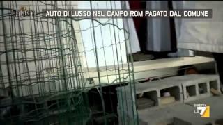 Auto di lusso nel campo rom pagato dal Comune