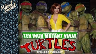 Ten Inch Mutant Ninja Turtles