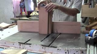 16 Four Drawer Bedside Table • More Dovetails For 5 Degree Drawers