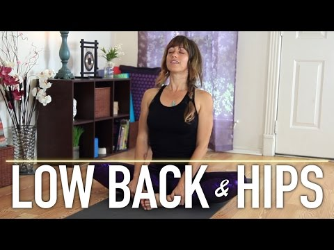 Low Back Pain Relief Stretches – Beginner Friendly Yoga Stretches by Jen Hilman