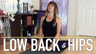 Low Back Pain Relief Stretches - Beginner Friendly Yoga Stretches by Jen Hilman
