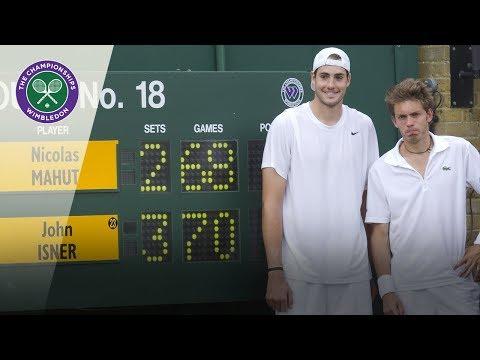 John Isner V Nicolas Mahut   Wimbledon 2010 First Round   Extended Highlights