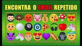 ♥ ENCONTRE O EMOJI REPETIDO! ♥ #2