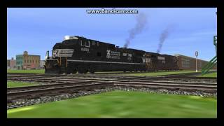 Return to My Route Part 1 Railfanning BNSF, Union Pacific, Norfolk Southern, and Amtrak thumbnail