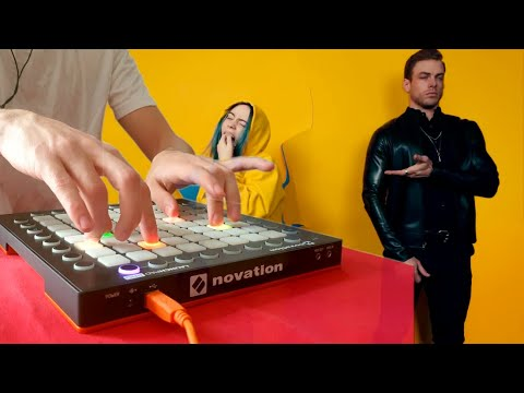 POP'S Plays : Billie Eilish - Bad Guy - Launchpad Piano Cover