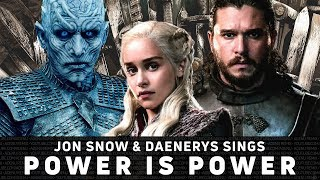 Jon Snow & Daenerys cantam Power is Power - The Weeknd, Travis Scott, SZA  (Versão sem Autotune)