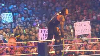 2/2 Roman Reigns entrance at Wrestlemania 34