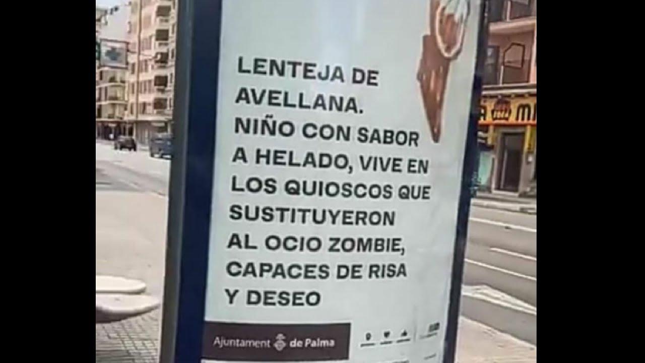 """""""NIÑOS CON SABOR A HELADO"""" LA PERTURBADORA PUBLICIDAD DEL AYUNTAMIENTO DE PALMA"""