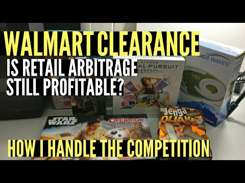 Buying Walmart Clearance To Resell on Amazon FBA, Retail Arbitrage in 2017 and Beyond