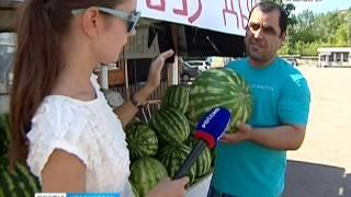 Красноярцы стали реже покупать арбузы