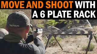 Moving and Shooting with a 6-Plate Rack with Tactical Hyve