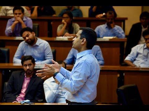 IIMA PGPX Speaker Series -Ashish Bhandari, CEO-GE speaks on Digital Transformation