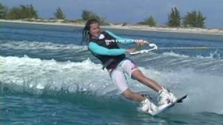 Wakeboarding in the Turks and Caicos Islands