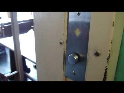 Elevator Trio: 1930 Otis Traction elevator @ Rush Rhees Library Rochester NY