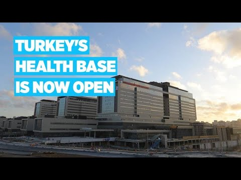Giant Basaksehir City Hospital opened in Istanbul - Anadolu Agency