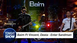 Download lagu Jamming Baim Ft Vincent Desta - Enter Sandman