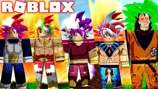 out! DRAGON BALL UPDATE TRANSFORMATION ON ROBLOX-NEW EVIL SAIYAN AND FORMS