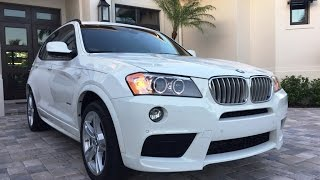 2013 BMW X3 xDrive35i AWD M Sport for sale by Auto Europa Naples (239) 649-7300 / MercedesExpert.com
